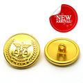 fancy pequeno botão de ouro para revestimentos de terno