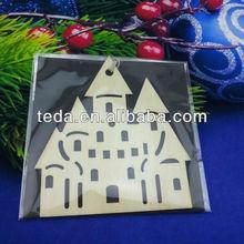 Castle design Party Plywood Cutouts chrismas Decoration