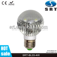 Choose 4w 340lumens led bulb light strong focus on quality standards