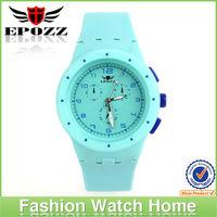 wholesale japan quartz wrist watch silicone watch plastic ladies watch