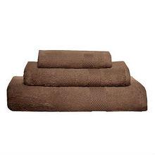 Pure Fiber Organic Combed Cotton Bath Towels - Chocolate