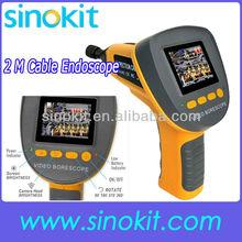 Snake Scope Pipe Camera 360 Image Rotation Video Inspection Endoscope