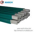Aluminio 160amp-500amp. De acero inoxidable barra del conductor de marzo pórtico grúa rieles