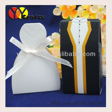 Free ribbon and logo! hot salewholesale and retail new design candy and cake sweet box for wedding and chrismas party decoration