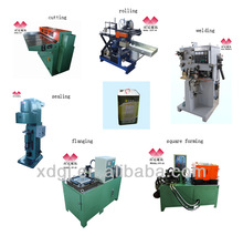 18L tin oil/square can making machine production line