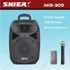 portable compatible usb/fm mini bluetooth speaker AK8-309