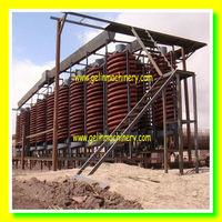 rock separator mining spiral chute equipment
