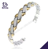 remote controlled led bracelet fashion customized titanium charm bracelet