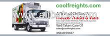 freezer trucks and van chiller and reefer trucksand vans