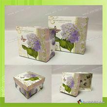 WT-PBX-679 art paper cosmetic boxes