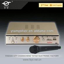 2012 best wireless mp3 headphones YT-K807 with wireless microphone