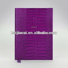 2014 leather book cover