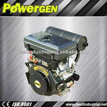 Best Seller !!!POWERGEN Robust BD2V90FE 4 Stroke Air cooled 2 Cylinder Diesel Engine 25HP for Motorcycle