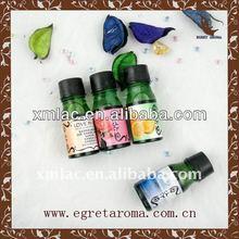 sex massage lubricant oil in green glass bottle