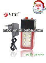 emergency light with fan