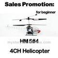 Walkera libélula hm5#4 helicóptero elétrico de rc