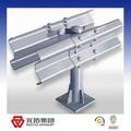 Sıcak galvanizli yol emniyet çarpma bariyeri/metal kiriş tırabzan manufacuturer