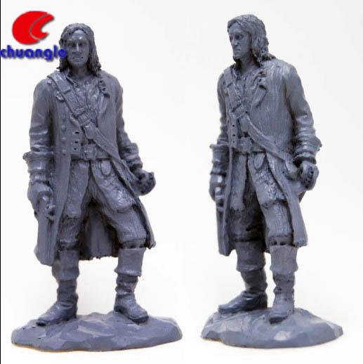 Piratas de la caribe, Pirata resina, Pirata estatua