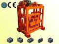 Hot vender qtj 4-40 pequeno bloco de cimento que faz a máquina com misturador
