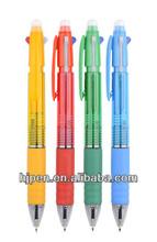 Hot Sales Cheap Plastic Student Pen 4 Colour Ball Pen