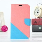 New arrival Collision Color design dormancy smart holsters for phone case for Samsung Galaxy Note 2 N7100