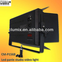 DMX512 control pro led studio light for tv film shooting