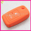 Hot sell smart silicon car key cover for chery remote key casing 2 button key case,hot color car key shell for promotion item