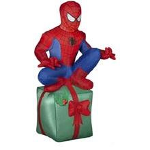 inflatable trend christmas gift 2013 Spiderman sit on Christmas box