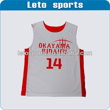 2013 Hot sale polyester basketball jerseys china clothing