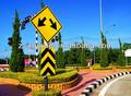 alumínio sinal de trânsito
