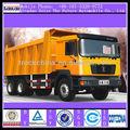 Shacman 6*4 340hp 50t caminhão basculante& dumper caminhão de transporte de dimensão