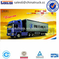 Shacman d- uzun F2000 kamyon tir sağ direksiyon kamyon romörk konteynır
