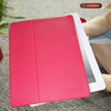 pink PU leather protective case for i pad 4 from manufacture