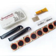 Portable mini bicycle tire repair kit
