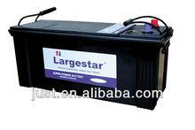 Lead-acid Low Self-discharge MF N120 Automotive battery 12v 120ah