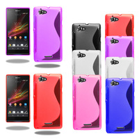 s line tpu case for sony xperia neo l mt25i