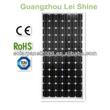 High effieciency TUV CE RoHs mono solar panel watt