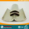 customized N35H neodymium magnetic generator segment magnet moto