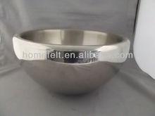 carbon steel enamel cooking pot with s/s handle