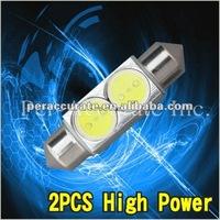 36/39/42mm 2w high power festoon led,car dome light marine light