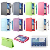 For Samsung Galaxy Tab 3 10.1 P5200 Slim Folio Leather Case Cover Accessories
