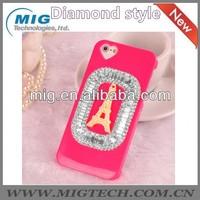 For iphone 5 fasdhion Bling diamonds Eiffel Tower design phone case for iphone 4 4S 5 5S, for iphone case