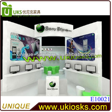 2013 mobile phone accessories kiosk with novel design