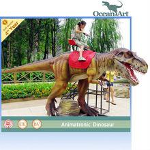 Animatronic mechanical dinosaur rides for sale