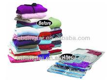 reuseable vacuum compressed bags closet organizer