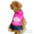 Pequeñoshotsell denim perro invierno falda, falda de pet, ropa para perros