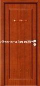 interior meranti/oak//teak/mahogany veneer flat painting wooden door