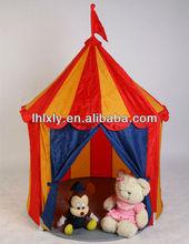 princess castle pattern portable kids play pop up tent