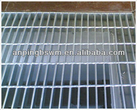 YB/T4001.1-2007 galvalnized floor gully cover/Steel Platform Bar Grating/Steel Walkway in low price