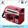 Modelo HN-056UAR FM / AM / SW 3 banda RADIO
